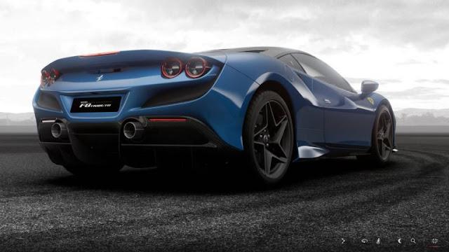 Configurator, Ferrari, Ferrari F8 Tributo, Galleries, New Cars