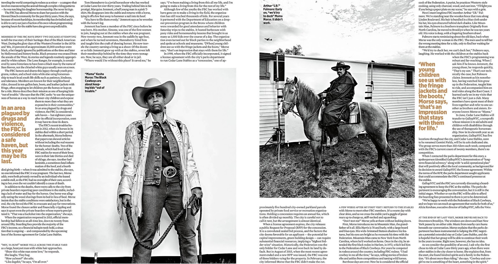 076c1a60f85bc The Federation of Black Cowboys  An homage to Richard Avedon by Brad ...