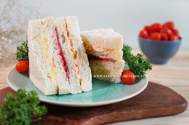 cara membuat inkigayo sandwich