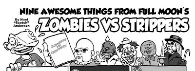 zombies vs strippers comic