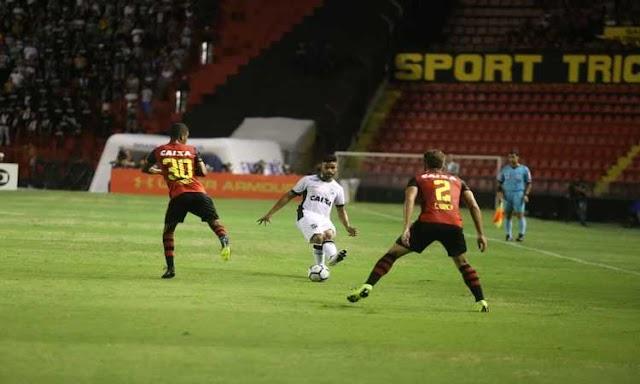 Ceará perde para o Sport fora de casa, mas segue fora da zona de rebaixamento