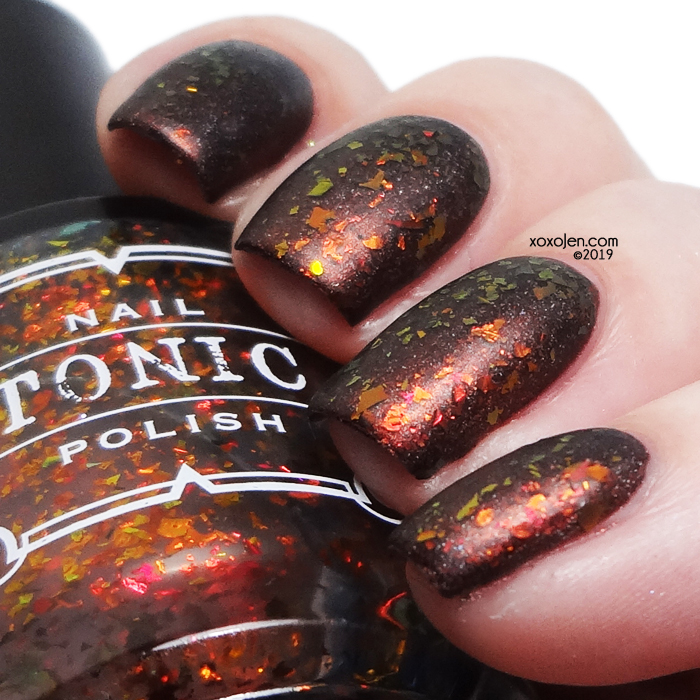 xoxoJen's swatch of Tonic Speak of the Devil
