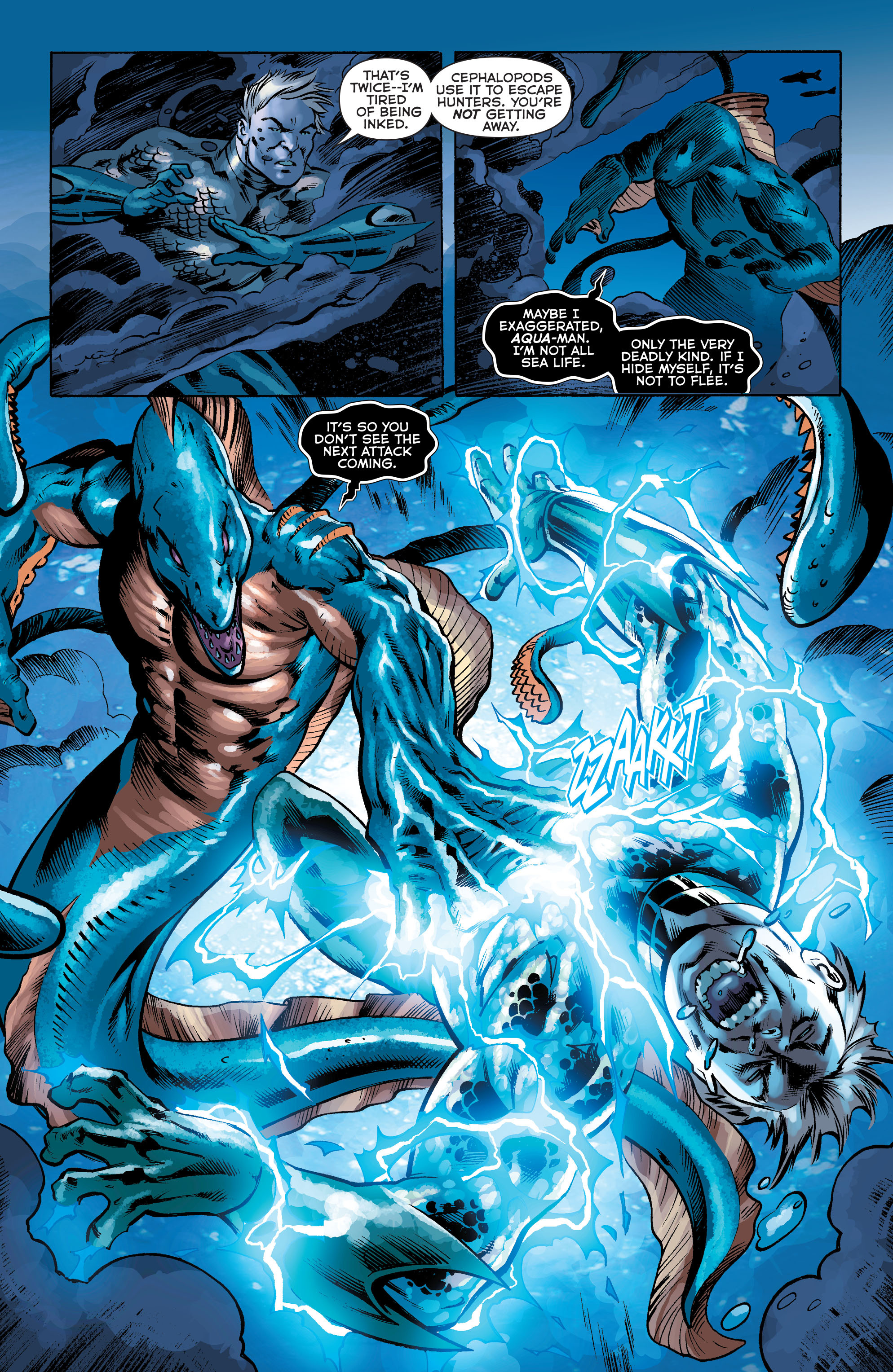 Read online Aquaman (2011) comic -  Issue #34 - 4