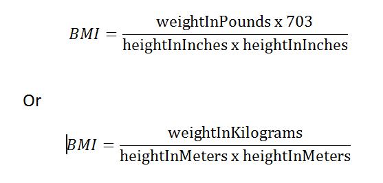body dimension calculator