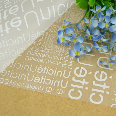 Kertas Buket Bunga / Flower Bouquet Wrapping Paper (Seri WM-008)