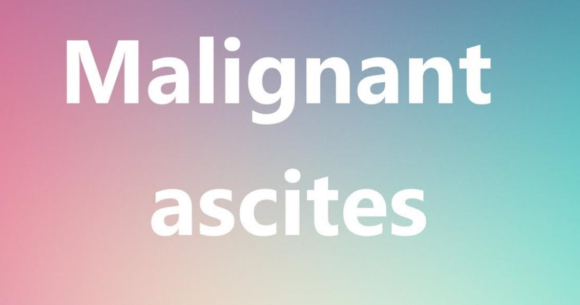 Malignant Ascites Life Expectancy Canceroz