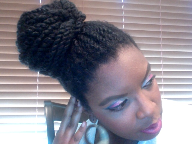 Loose Two Strand Twists