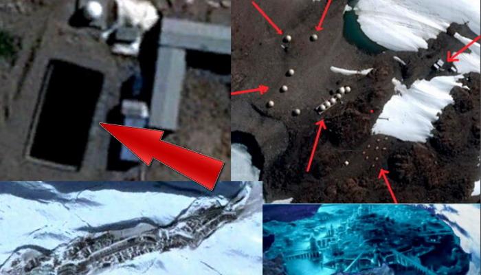 Impresionantes hallazgos en la Antártida ¿Fuentes de energía antiguas son la razón de todas las actividades que suceden en la Antártida?