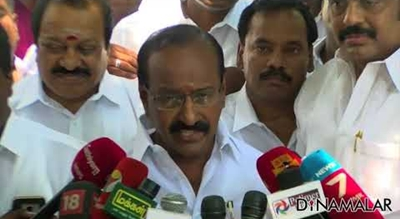 MLA Jakkaiyan Extend Support To TN CM