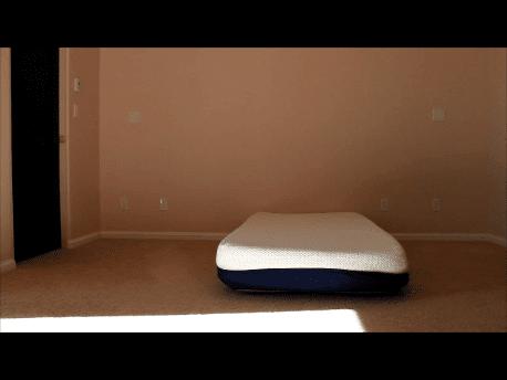 uneven memory foam mattress