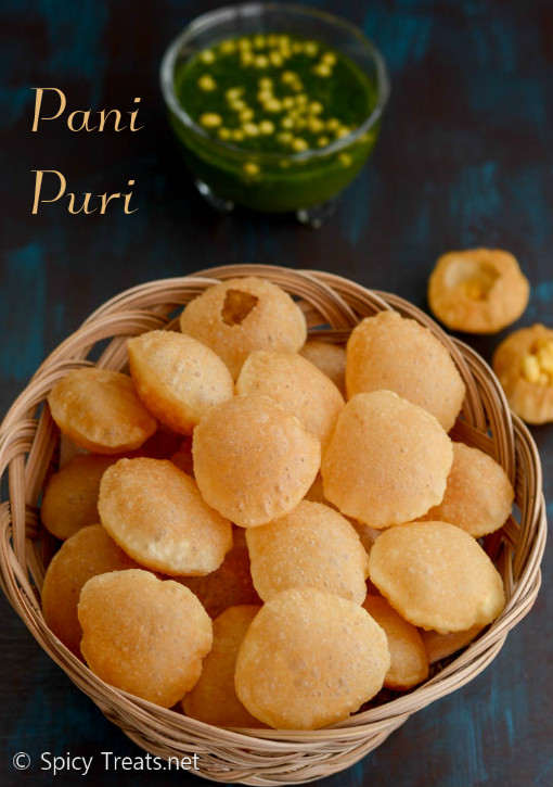 Puri Recipe For Golgappa