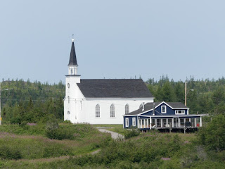 Eglise de Magpie - Minganie - Côte nord du fleuve Saint Laurent