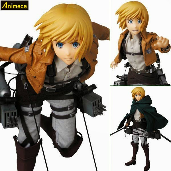 ARMIN ARLERT REAL ACTION HEROES FIGURE Shingeki no Kyojin Medicom Toy