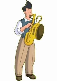 Cartoon Characters: George Shrinks