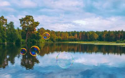 bubbles widescreen hd wallpaper