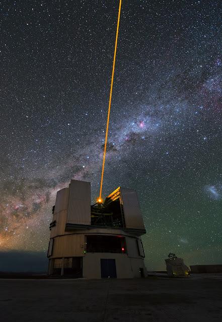 Laser Guide Star & VLT Telescopes