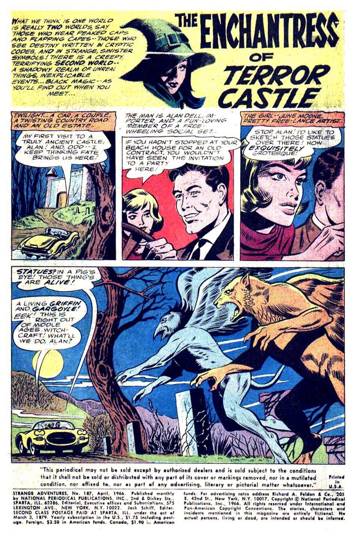 Strange Adventures (1950) issue 187 - Page 3