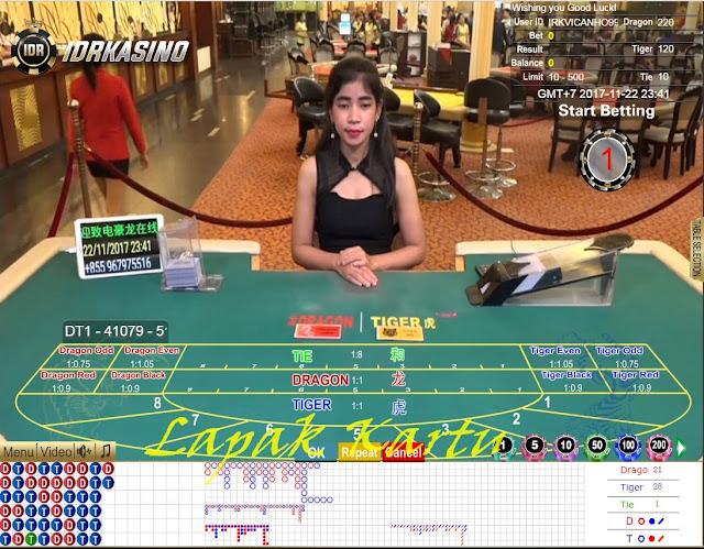 Perbedaan Permainan Kasino Dragon-Tiger dan Permainan Baccarat