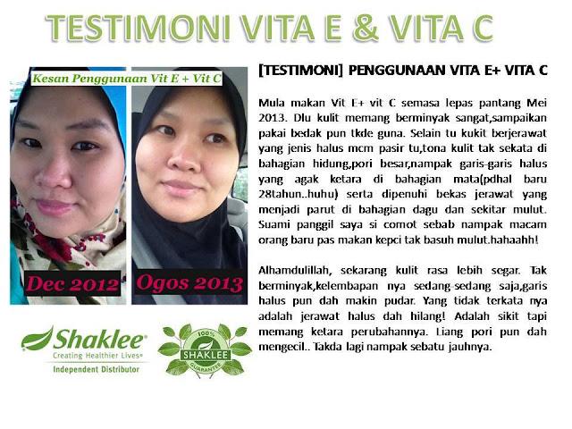 testimoni vitamin E complex shaklee