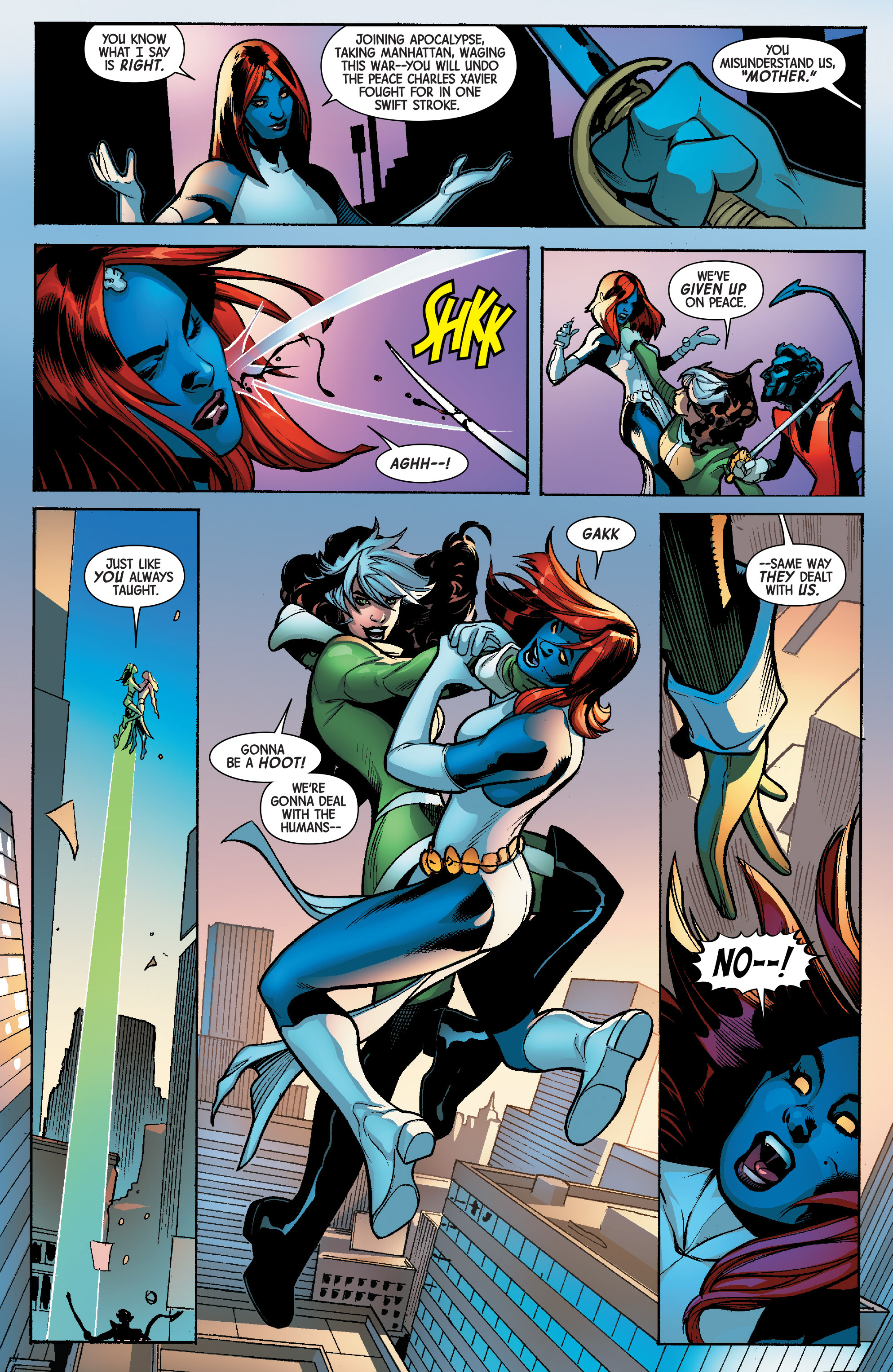 Read online Avengers & X-Men: AXIS comic -  Issue #6 - 8