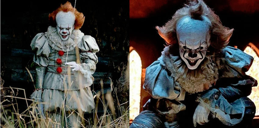 "9604f1e62be6 ... clown facial make-up has decidedly gone a more distinct ""eviler""  (reminding me of ""The Crow"" actually) … Won t be too surprised WHAT costume  might be ..."