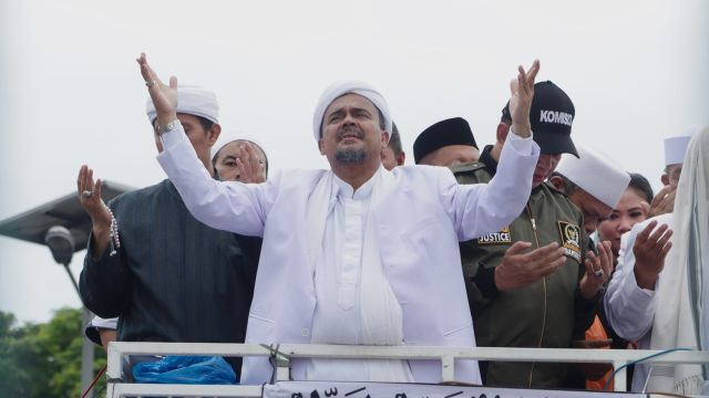 Dari luar negeri, Habib Rizieq doakan aksi 55 lancar dan sukses