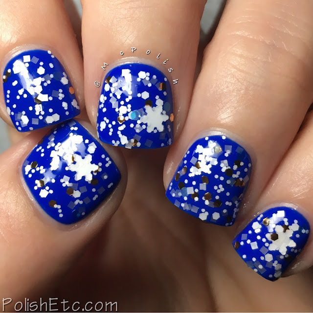 Whimsical Ideas by Pam - Holiday 2016 - McPolish - Precious Snowflake