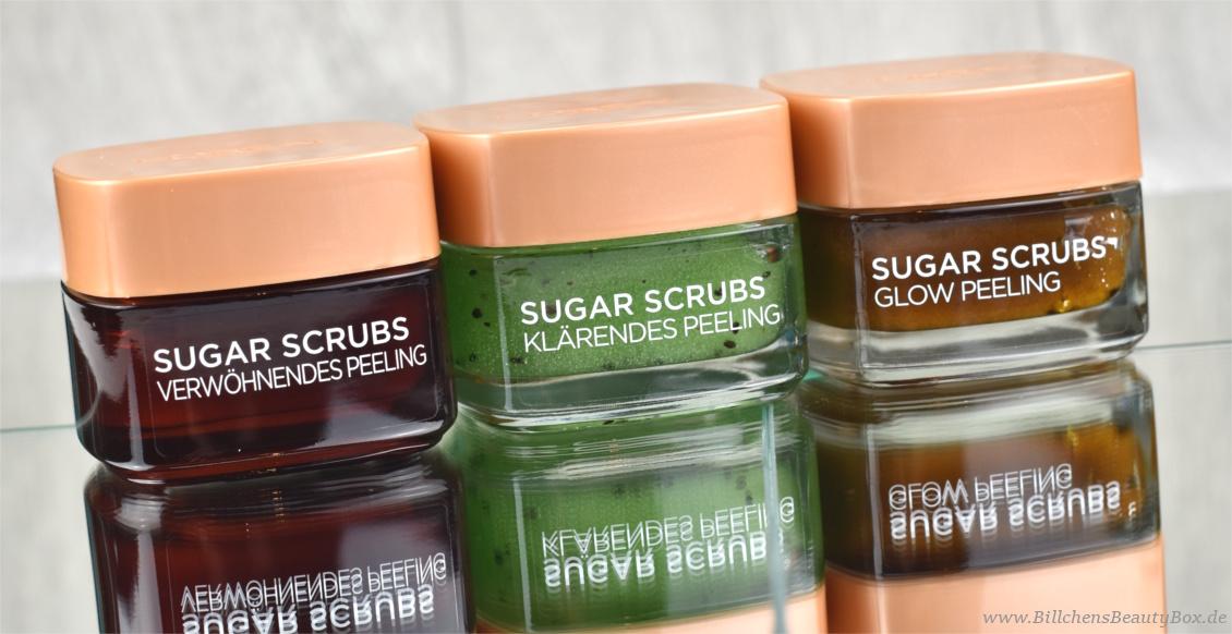 Review L'Oréal Sugar Scrubs Zuckerpeeling