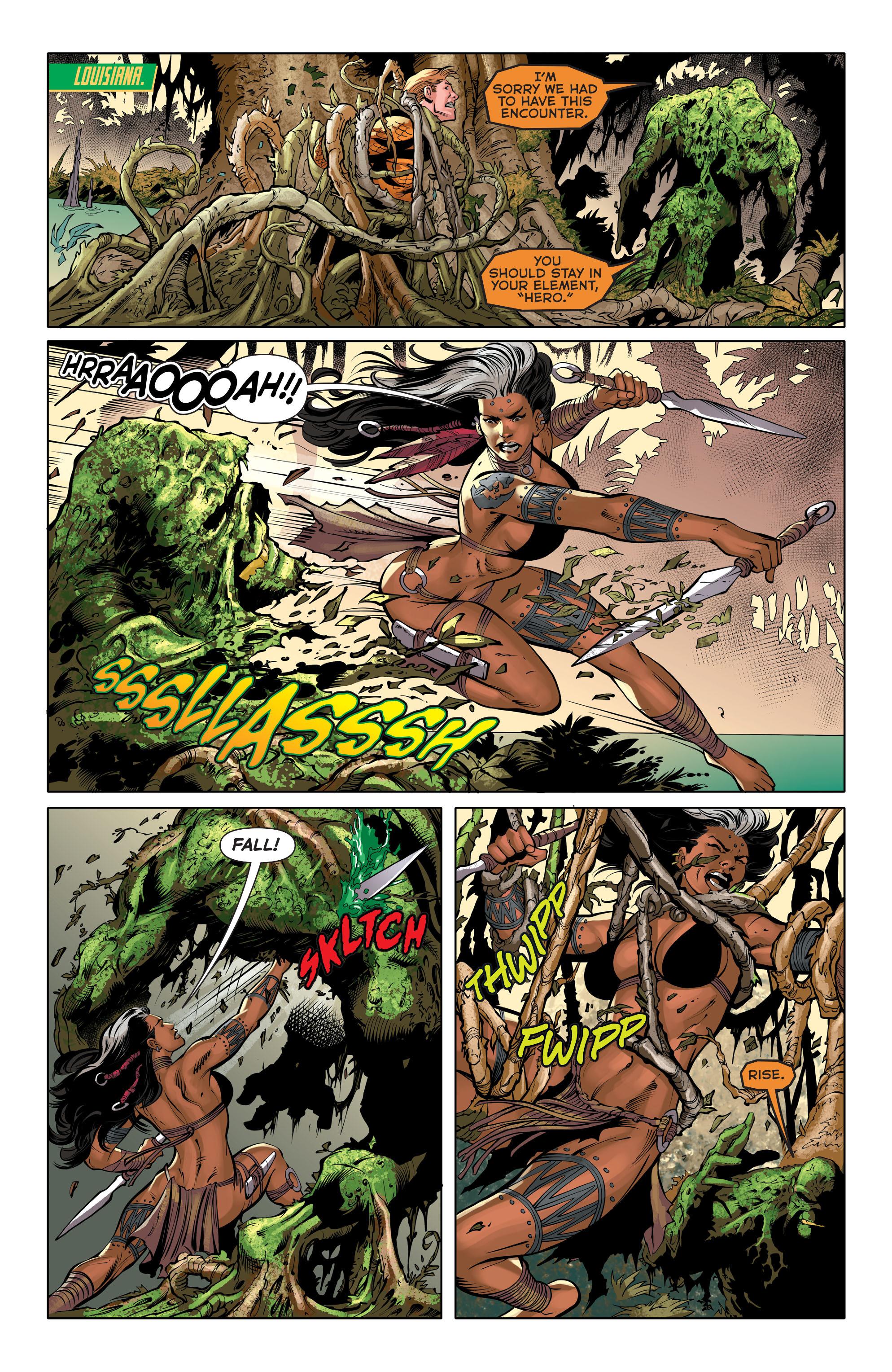 Read online Aquaman (2011) comic -  Issue #31 - 14