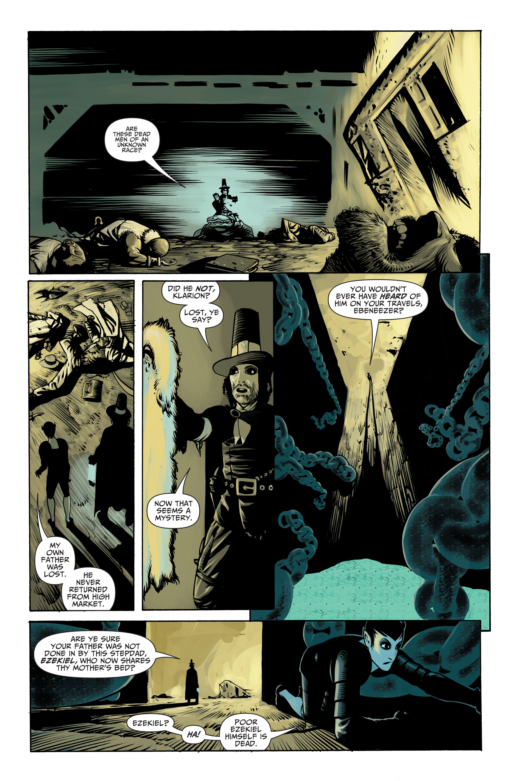 Read online Seven Soldiers: Klarion the Witch Boy comic -  Issue #2 - 12