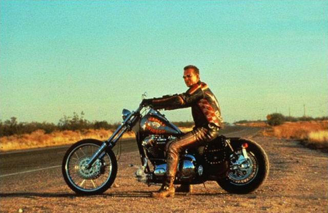 Mercenary Garage - Harley Davidson & the Marlboro Man