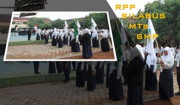 Contoh RPP Silabus Bahasa Indonesia MTs SMP KTSP Lengkap