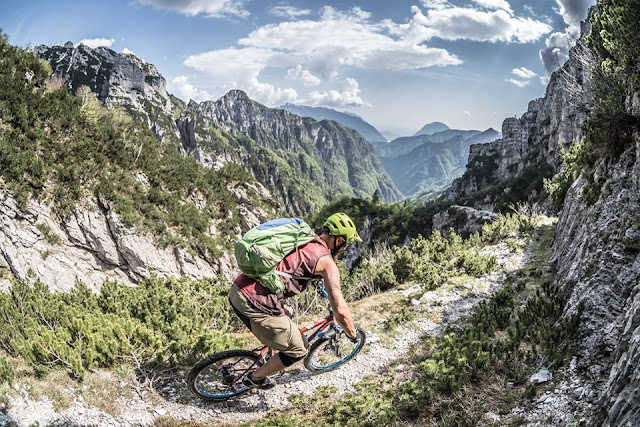 Monte Flop rif. Grauzaria 437 mtb trail
