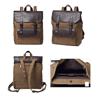 Tas Ransel Pria Korea Model Uk Canvas Collage Murah Juli 2016