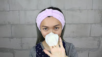 Soak your cotton pad into the mixture