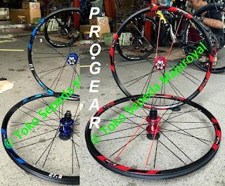 Wheel Set Progear Jangkrik ada 26 dan 27,5 inch