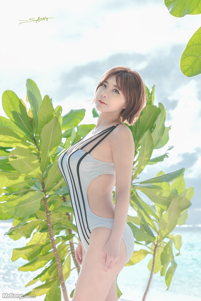 Image Ryu-Ji-Hye-Hot-Thang-4-2017-MrCong.com-009 in post Người đẹp Ryu Ji Hye nóng bỏng khoe dáng cùng trang phục tắm biển 4/2017 (35 ảnh)