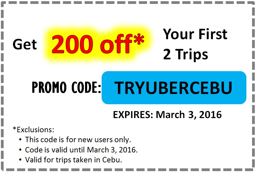 Uber Cebu Tips | Promo Codes | Driver Incentives | Tips & Tricks