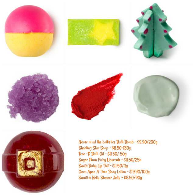 Lush Christmas 2017 Limited Edition
