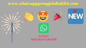 Latest WhatsApp Group Join Link List
