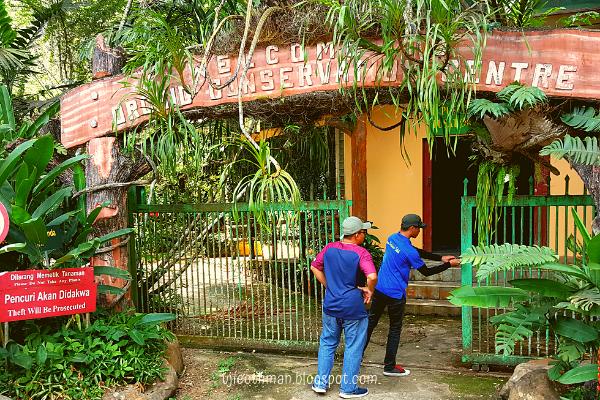 taman orkid taman pertanian sabah