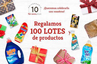 Tu Casa Club regala 100 lotes de productos Henkel gratis