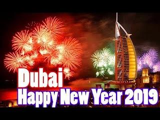 Burj Khalifa Live Fireworks Happy New Year Eve 2019 Dubai Time Square NYC Fireworks