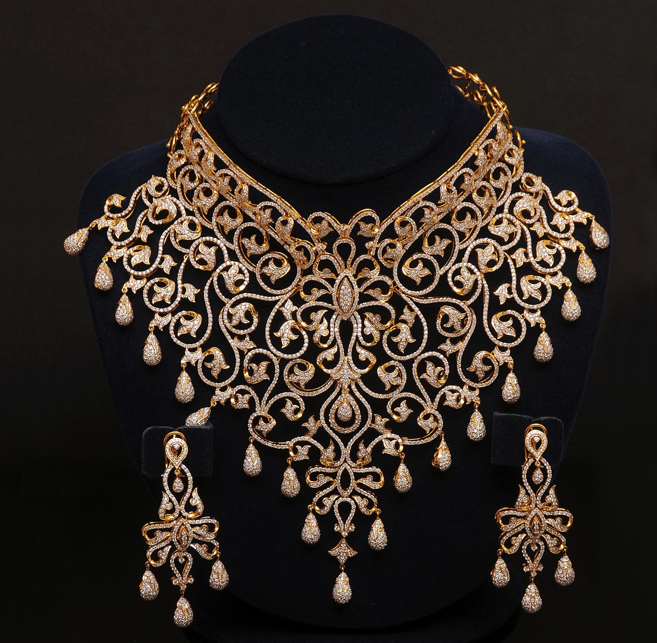Cartier diamond pendant necklace