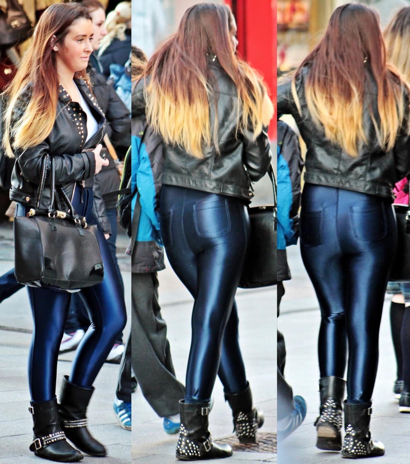 Shiny Jeans For Men