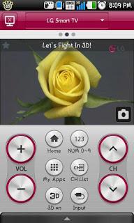 برنامج ريموت كنترول LG Smart TV