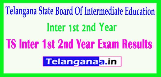 TS Telangana Intermediate 1st 2nd Year Exam 2018 Results