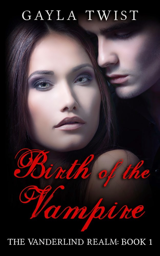 Birth of the Vampire review and giveaway, Gayla Twist