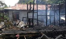 Kebakaran 1 buah Rumah Di Nanga Mahap Ditaksirkan Rp200 Juta Hangus