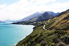 Road to Blanket Bay, New Zealand